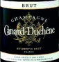 Étiquette deCanard-Duchêne - Authentic Brut